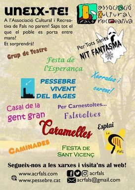 ACR Fals - cartell Festa Major 2019